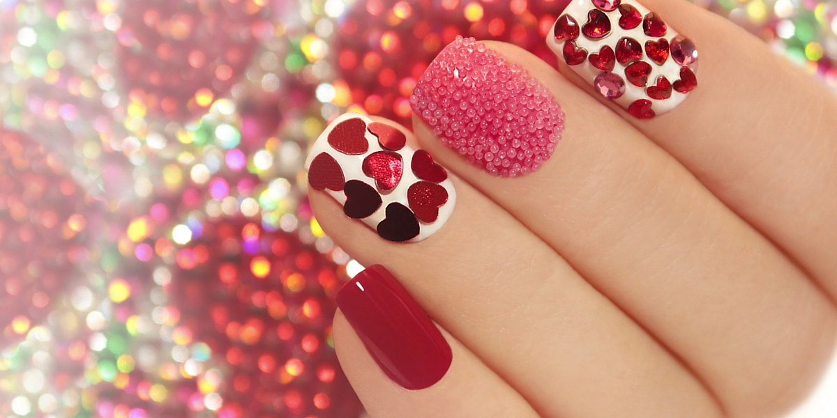 Nail Art Image- red nails